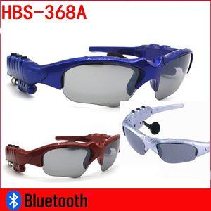 Occhiali da sole Auricolare Bluetooth Occhiali da esterno Auricolari Musica con microfono Cuffia stereo senza fili Lettore MP3 Auricolare wireless per telefono Bluetooth