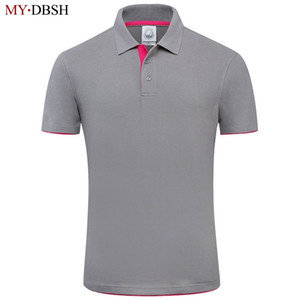 Neue mydbsh für designer weicher baumwolle kurzarm polo shirt männer berühmte marke clothing sh190718