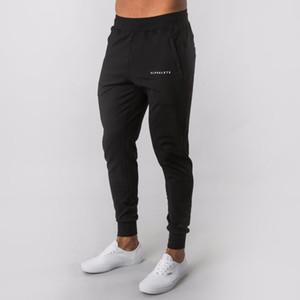 Alphalete Novo Estilo Mens Marca Jogador Sweatpants Man Gyms Workout Fitness Calças de Algodão Masculino Moda Casual Moda Skinny Pants Calças