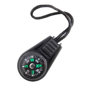 Key Chain Mini Pocket Compass Outdoor Camping Hiking Finding Way Hiker Navigator Utility Gear Survival Keychain Compass Too