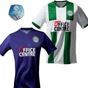 20 21 FC Groningen robben soccer jerseys 2020 2021 Groningen home away Zeefuik Daishawn Redan purple white football shirts maillot de foot