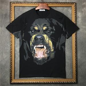 Estate T shirt Moda Uomo Stylist T shirt Uomo Donna T Shirt Hip Hop Dimensione animale stampato manica corta S-XXL