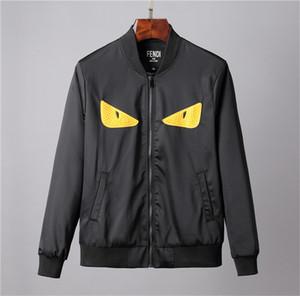 Giacca Uomo Autunno Inverno Donne Mens Zipper cappotto occhi classico ricamo Uomo Felpa manica lunga Moda Streetwear B102452K