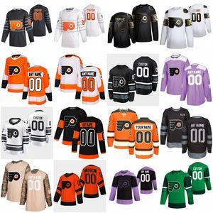2020 All Star 11 Travis Konecny 13 Lil Peep Custom Philadelphia Flyers Hockey Jersey 14 Шон Кутюриер 9 Иван Проваров 28 Claude Giroux 93