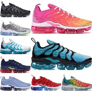 Erkekler Kadınlar Kraliyet Smokey Leylak Dize colorways Tasarımcı Üçlü Beyaz Siyah Eğitmen Spor Spor Ayakkabılar 5,5-11 için 2020 TN Artı Koşu Ayakkabı