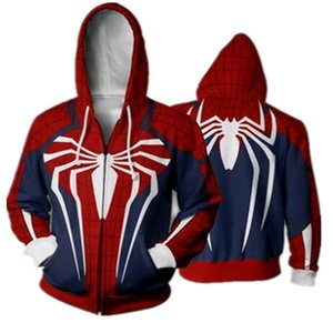 The Avengers 4 SpiderMan Captain America Iron Man Boys Sweatshirt Autumn Quantum Warfare Hoodies Coats For Boy Kids Clothes