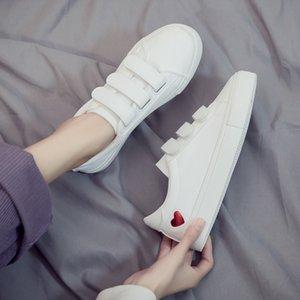 Frauen Art und Weise Turnschuhe Sequin Weiß Bequeme Freizeitschuhe Kursteilnehmer Schuhe Frau festen Haken Blick Turnschuhe Frauen Platfrom Schuhe