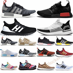 Nouveaux NMD R1 Formateurs Bred Gris Japon Triple Noir Primeknit runnning Chaussures Ultra Boost Ultraboost Game Of Thrones 19 20 Oreo Sport Sneakers