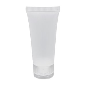 50Pcs 50Ml Frosted Clear Plastic Soft Tubes Empty Cosmetic Cream Emulsion Lotion Packaging Containers