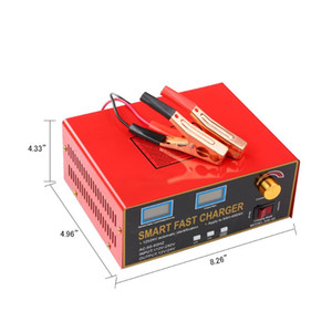 Hot New 12V 24V 23A 18A 600W 6AH-400AH Smart Pulse Repair Battery Charger and Maintainer Smart Battery Charger XW-40