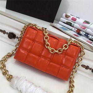küçük tasarımcı çanta yeni stly basit küçük kare paket kaset sünger çanta deri çanta kadın omuz çantası diyagonal kareli yastık çanta