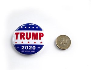 NEW Trump Metal Badge 2020 Tinplate Pins America President Republican Campaign Political Brooch Coat Jewelry Brooches Gifts Epacket