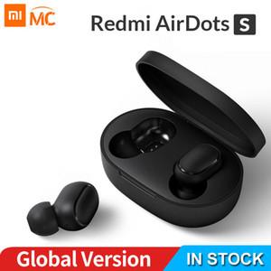 2020 NEW XIAOMI Redmi AirDots S سماعات الأذن سماعة بلوتوث ستيريو 5.0 TWS اللاسلكية SBC لطيف البسيطة الخفيفة سماعة السيارات مربع الشحن
