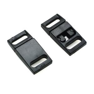 "100pcs lot 3 8""(10mm) Plastic Safty Breakaway Buckles Black For Bra Cat Collar Paracord Webbing Garment Accessories"
