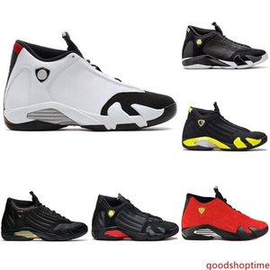New Mens Designer 14 The Last Shot Basketball Shoes DMP Desert Sand 14s Men Sports Thunder Red Black Toe Sneakers size 8-13