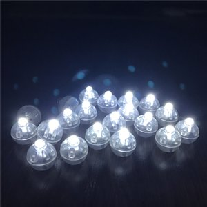 Round Led RGB Flash Ball Lamps Hot Sale New Decoration Balloon Lights Flashlight Ball Lights Red, White, Blue, Pink