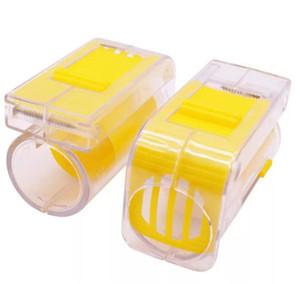 새로운 홈 꿀벌 여왕 포수 플라스틱을 표시 한 손으로 마커 병 플런저 봉제 양봉 도구 정원 양봉 여왕 꿀벌 포수