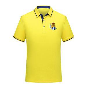 Thai version quality real sociedad summer fashion cotton football polo shirt men short sleeve lapel polo soccer men polo shirt training jers