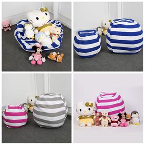 Kids Storage Bean Bags Plush Toys Beanbag Chair Bedroom Stuffed Animal Room Mats Portable Clothes Storage Bag Organizer LJJA3579