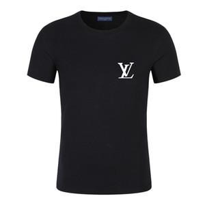 Mode présage chaussures 1 Marque T-shirt pour hommes Designer T-shirts Lettre broderie Impression Hommes ronde Casual Neck femmes T-shirts T-shirt d'été Hauts