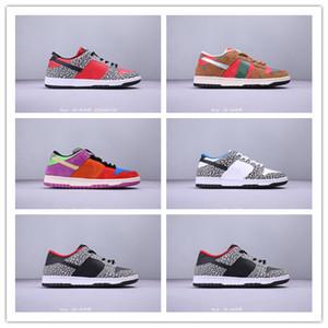 2019 vendita poco costosa Designer Dunk Low Premium SB Sneakers rossa di bianco grigio x di pallacanestro di modo casuale Uomo Scarpe da ginnastica Des Chaussures 36-45
