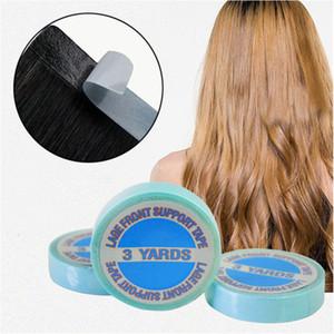 3 pc 1 pc extraordinariamente impermeável fita adesiva dobro para fitas de extensão de cabelo de pele de pele de pêlo da peruca 300cm de alta qualidade
