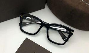 2020 NEW высококачественного TF681-F Площадь Pure-дощечка большой каркасный 50-20-145 унисекса очки по рецепту с прозрачной линзой и полный набор случае OEM