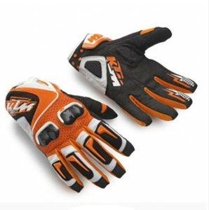 KTM carbon fiber leather gloves off-road vehicle motorcycle rider riding racing locomotive anti-fall gloves