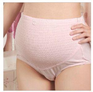 Schwangere Briefs Höschen mit hoher Taille Magen Aufzug Breathable Unterwäsche Schwangere Belly Mutterschaft Adjustable Mutterschaft Bottoms Supplies M539