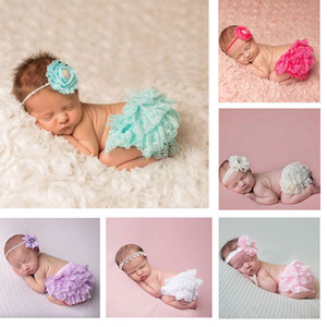 6 Colors Newborn Baby Clothes Toddler Cotton Lace Bloomers Cute Baby Girls Boys Bottom Diaper Cover Infant Summer Shorts PP Pants M1361