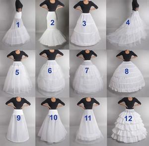 الزفاف التنورة الداخلية القرينول قماش قطني زلة تحتية فستان الزفاف هوب خمر الزلات