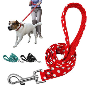 Pet Walking Dog Hundeleine für Small Medium Hunde Katzen Tupfen Puppy Training Leinen Lauf Leads Außenseilgürtel 1.2m Supplies