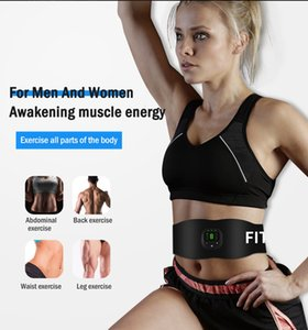 Men Health Care Machine Smart Wireless Electronic Muscle abs Stimulator Abdominal Trainer Roller Sticker Slimming Patch Massager