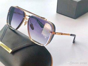 New luxury sunglasses men design metal retro sunglasses limited edition Fashion style square frameless UV 400 lenses