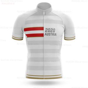 Österreich Pro Team Radtrikot Dry Schnell Radfahren Shirt Bike Jersey Bekleidung Kurzarm Bike Tops Kleidung Silikon-Anti-Rutsch