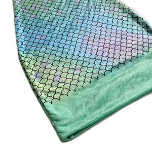 yılbaşı Y200114 için Çanta iyi hediyeyi Sleeping Çocuk Kız Giydirme için Millffy Süper yumuşak rahat denizkızı Kuyruk Battaniye