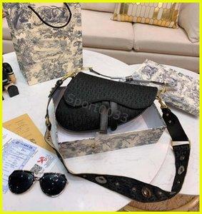 Damen-Sattel-Beutel, hochwertige Damenhandtasche Schultertasche Beige echten Brief Bestickung Satteltasche Mädchen-Dame Messenger Bag Waistpacks