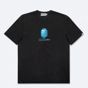 20ss Bordado BA Homens Mulheres marcou camisas Verão Designered Mens T-shirt de manga curta de luxo Top Tees Hip Hop Mens Streetwear 2042801H