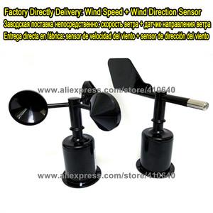 Ücretsiz Kargo Rüzgar Yönü Sensörü ARTı Rüzgar Hızı Sensörü RS485 RS232 4 to20mA 0-5 V Çoklu Güç Kaynağı Ve Çıktıları Mevcut