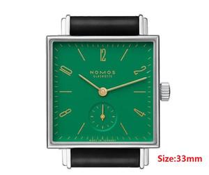 Alta qualidade de Negócios De Luxo lazer automático simples relógio de Pulso NOMOS LAMBDA homens mulheres relógio Minimalismo Glashütte NOMOS Relógios De Quartzo