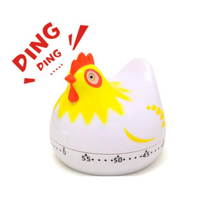 Kitchen Timer Clock Lovely Chicken Shape Cooking Timers Countdown Cooking Mechanical Countdown Digital Clock Timer Egg Timer Free Shipping