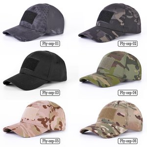 Fashion-Multicam Camouflage Tactical papà Cappello dell'esercito Airsoft Paintball Sport Hip Bone Hopk Trucker Baseball Caps Uomini Donne