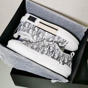 Dior shoes  B23  Eingerahmt 2020 Sommer Luxus hohe und niedrige Sportschuhe Mode Sportschuhe Männer und Frauen Retro B23 junge Luxus-Designer-Luxus handgemachte Schuhe