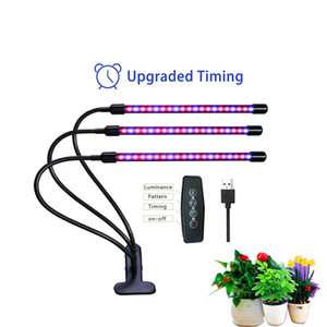 LED Bitki led Işık 5V USB büyütün kapalı Sebze Flower fide fitolampy için Full Spectrum Phyto Lambası lambalar