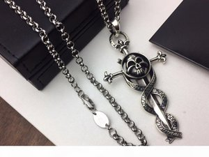 Fashion brand CH cross Skull designer necklace for lady Design man and Women Party Wedding Lovers gift Luxury Hip hop Jewelry.