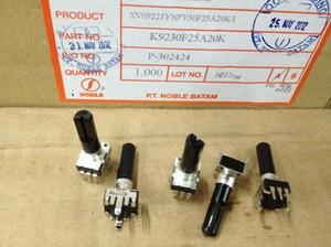 Japan Noble 09 Type Vertical Single Lian Potentiometer A20k A203 Handle Long 23mmf