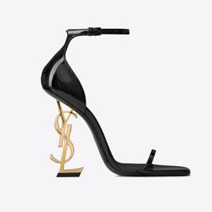 2020 nuevas señoras de la manera zapatos de tacón alto exquisita y mujeres de la correa cómodas letras tacón alto botas de cuero corta tamaño material 35-41