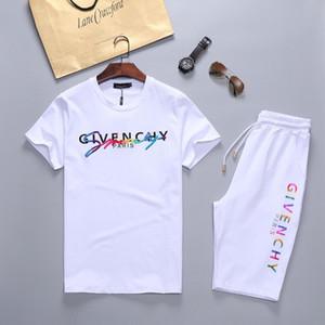 2020 Luxury Brand КОСТЮМ Мужчины моды Дизайнер Толстовка Summer Sportwear Activewear Jogger Костюмы мужские костюмы Идущие