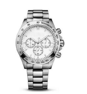 44 millimetri 1.512.962 + box 2019 bracciale in acciaio inossidabile della vigilanza del quarzo di modo nuovo Cronografo da uomo