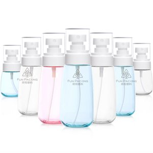 New 30ml 60ml 80ml 100ml Plastic Spray Glote Mist Spray Sprayer UPG Cosmative Refillable Bottle for Travel